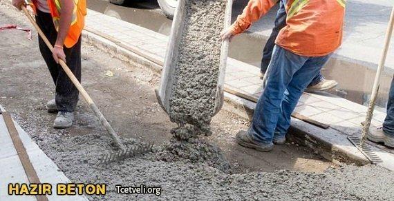 hazır beton