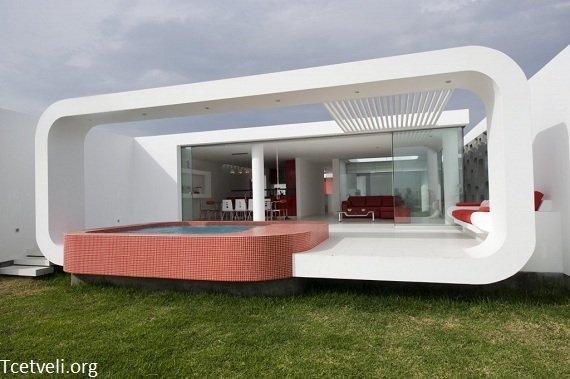 üç boyutlu villa